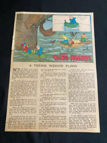 #36D TEENIE WEENIES by William Donahey Sunday Tabloid Full Page March 21, 1943