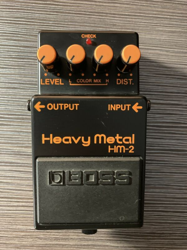 US SELLER BOSS HM-2 Heavy Metal Distortion Vintage Guitar Effect Pedal