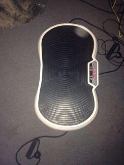 Vibration fitness machine
