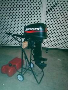 Mercury 15hp outboard motor Browns Plains Logan Area Preview