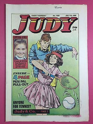 JUDY - Stories For Girls - No.1489 - July 23, 1988 - Comic Style Magazine