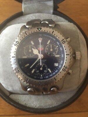 TAG Heuer CG1114 200m Professional Chrono Quartz Men's Watch - Mint Condition