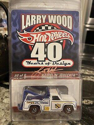 Hot Wheels RLC Ramblin' Wrecker from Larry Wood 40 Years Series. #3333/5000