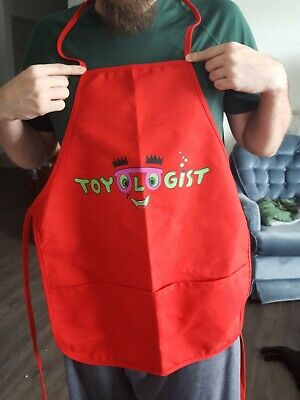"Vintage Very Rare Toys R Us Empolyee ""Toyologist"" Apron Great Condition"