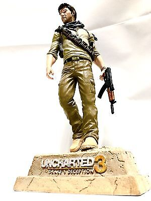 Uncharted 3 Drake's Deception PlayStation PS3 Collectors Edition •DRAKE STATUE• for sale  Shipping to Nigeria
