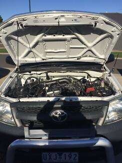 Wanted: Duel fuel Toyota hilux work mate2.7 litre  with triple racks