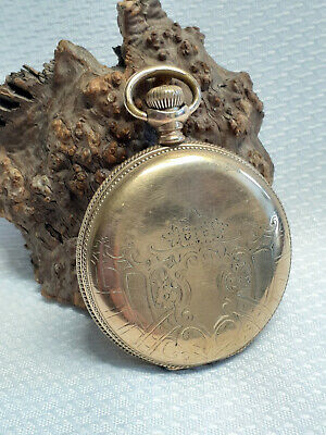 Beautiful! Vtg Elgin Nat'l Watch Co. 15 Jewels Gold Filled Pocket Watch Untested