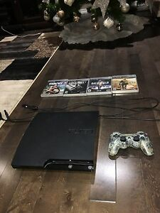 PS3 Slim 120GB - Great condition - $100