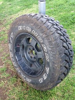 D40 navara rims and tyres  Newcastle 2300 Newcastle Area Preview