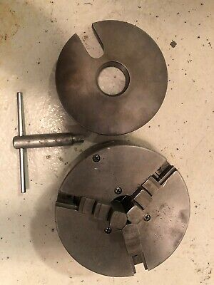 South Bend Lathe 9 Inch 3 Jaw And Dog Plate