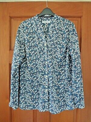 Joseph Turner Size 12 Liberty Mitsi Print Tunic Shirt