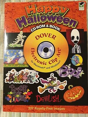 Happy Halloween Clip Art (Dover Electronic Clip Art: Happy Halloween (2008,)