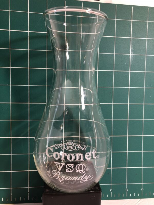 "VTG Coronet VSQ Brandy Decanter, 7 1/4"" tall, Very RARE."