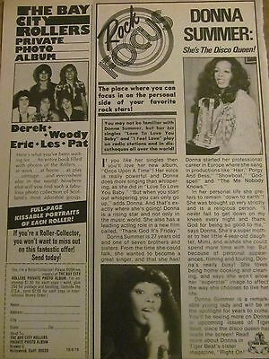 Donna Summer, Full Page Vintage Clipping