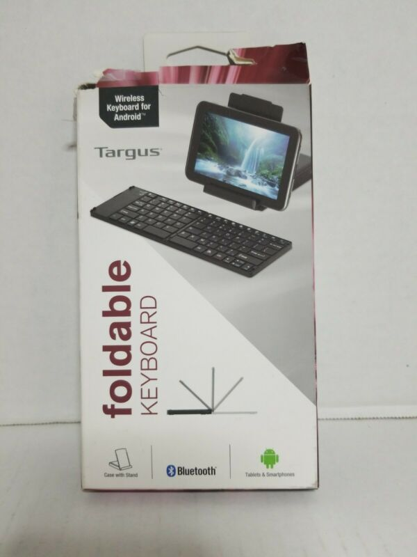 TARGUS Foldable Bluetooth Keyboard for Android Tablet, iPad, iPhone AKF001US
