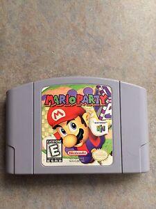 Mario Party Nintendo N64 Game
