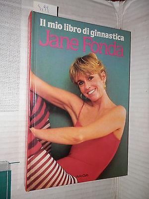 IL MIO LIBRO DI GINNASTICA Jane Fonda Varia Club 1983 manuale corso libro di