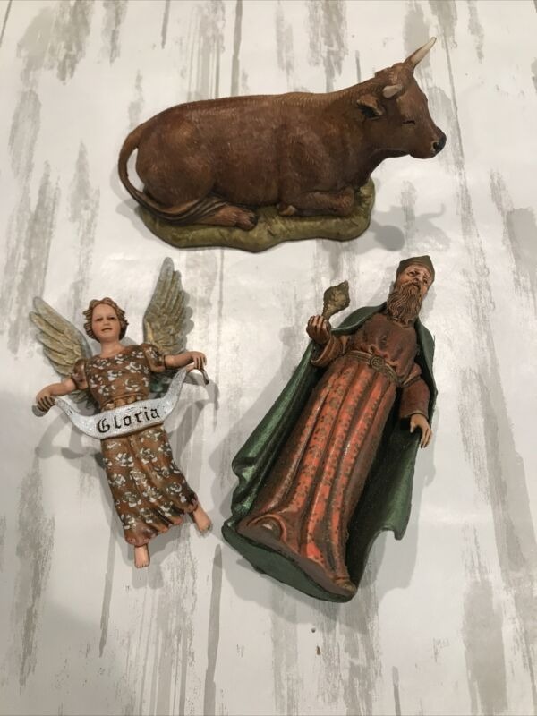 Vintage Nativity Characters Made In Italy
