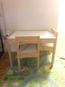 Toddler table and chairs set from IKEA $15