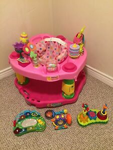 Exersaucer with Extra Toys