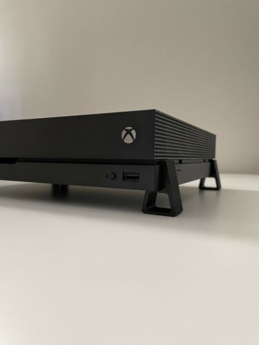 Xbox One X Riser Feet Stand - Improved Cooling - 3D Printed