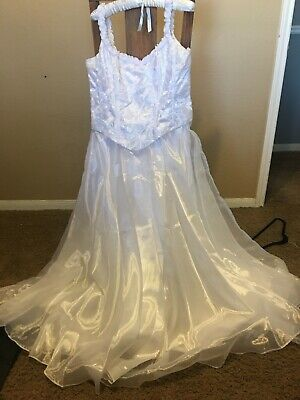 Vintage ISIS collection Wedding Dress (Size: 19-20)