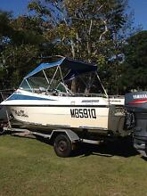 seafarer fishing boat Beachmere Caboolture Area Preview