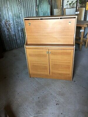 Vintage Retro Mid Century  Writing Bureau Bureaux Home Office Schreiber23/3/F/LB