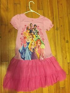 Robe fille princesse disney