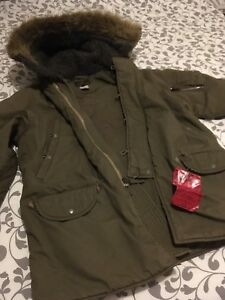 Abercrombie and Fitch Sherman Gunner Parka