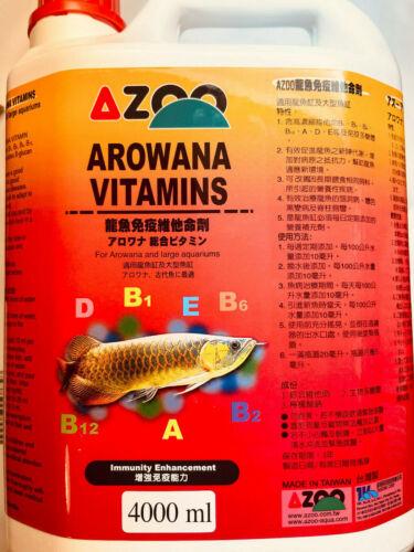4000 ML AZOO AROWANA VITAMINS for AROWANAS
