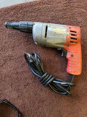 Milwaukee Screw Shooter 6758-1 Sheet Rock Drywall Gun Corded Tested