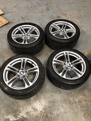 Bmw 5 Series F10 M Sport Alloy Wheels 18 Genuine