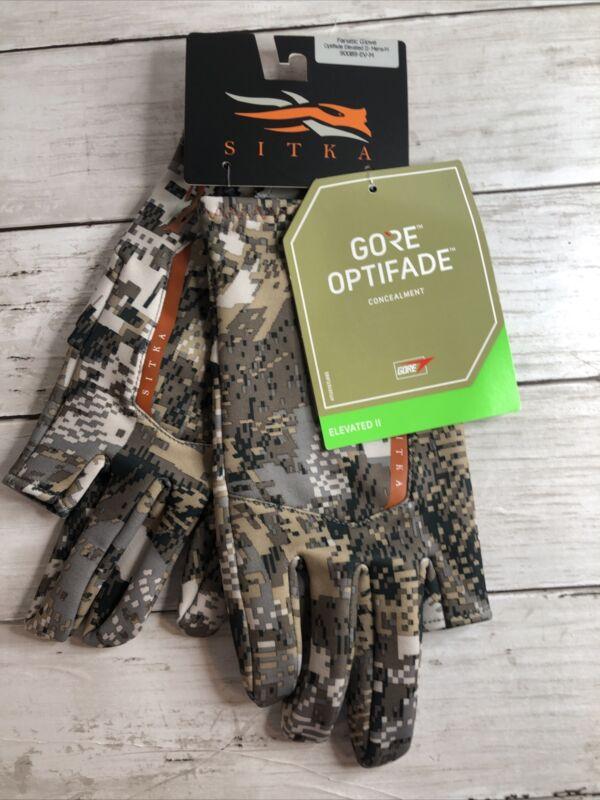 NEW Sitka Gear | Fanatic Glove Optifade Elevated II Medium 90089-EV-M