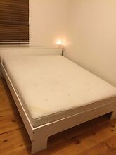 Queen size bedframe and mattress For Sale Springvale Greater Dandenong Preview