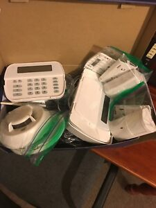 Bell Aliant security system with cameras