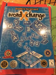Word Exchange - just like scrabble but better!
