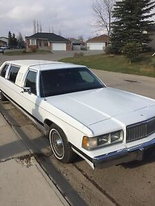 Reduced** 1989 Grand Marquis Limousine