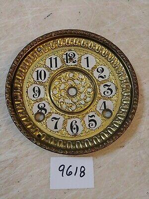 ANTIQUE GILBERT MANTLE CLOCK DIAL & BEZEL NO GLASS