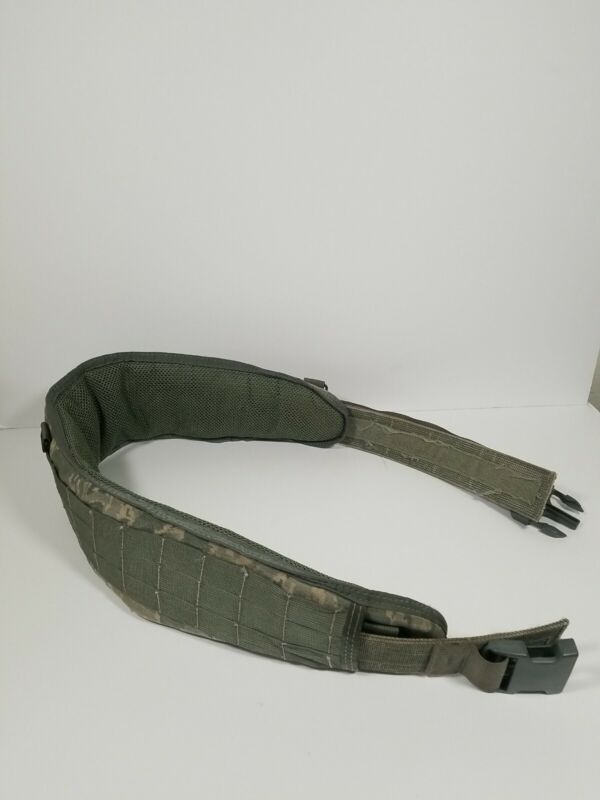 U.S. Military Tactical Tailor Medium Padded Belt Made In USA Buckle