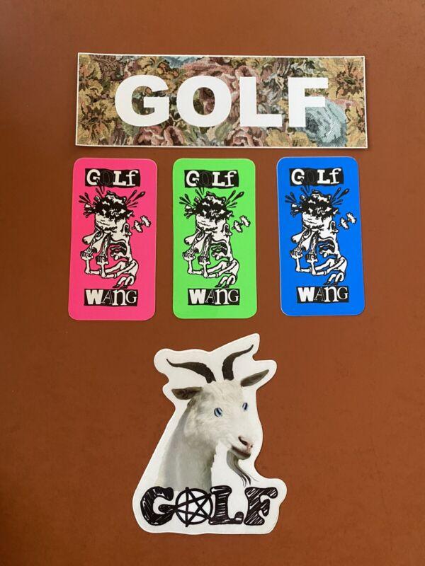 Golf Wang Variety Sticker Set