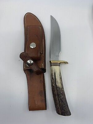 RANDALL 3-5 STAG ROUGHBACK KNIFE