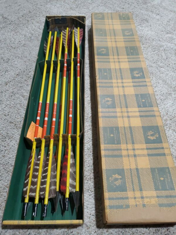 Indian Archery And Toy Corp box of arrows