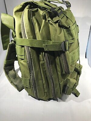 Zombie Survival Backpack (Olive Emergency Survival Back Pack Essential Bug out Bag Zombie Hurricane)