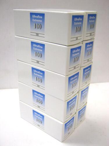 10 Rolls Ultrafine Xtreme Black & White 120 Film ISO 100 B & W FRESH 11/2023