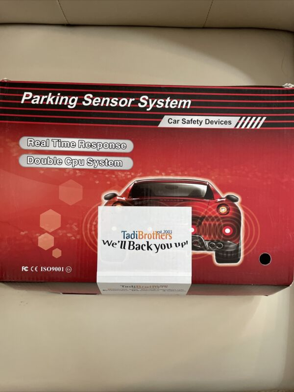 TadiBrothers Parking Backup Sensor System with Sound (TB-S058)
