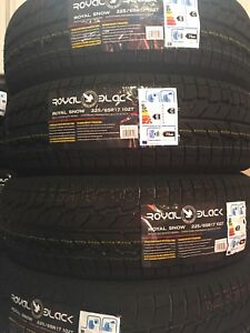 Brand new winter 225/65/r17 tires
