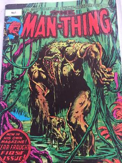 """First issue """"The Man Thing"""""""
