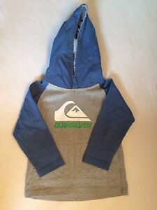 Quiksilver hooded top size 2