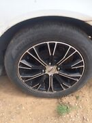 4 Lancer wheels and tyres Cowra Cowra Area Preview